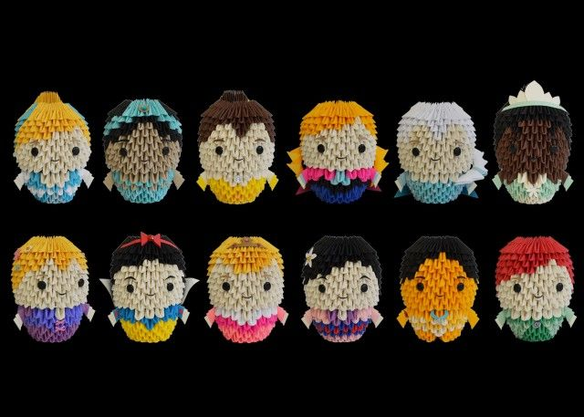 disneyprincessjpg 640215457 origami people pinterest