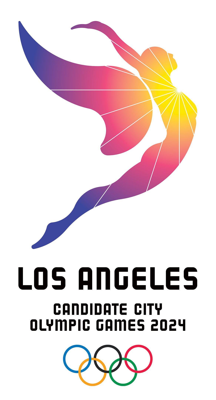 Los Angeles 2024 Logo Ciudad Candidata A Los Juegos Olimpicos