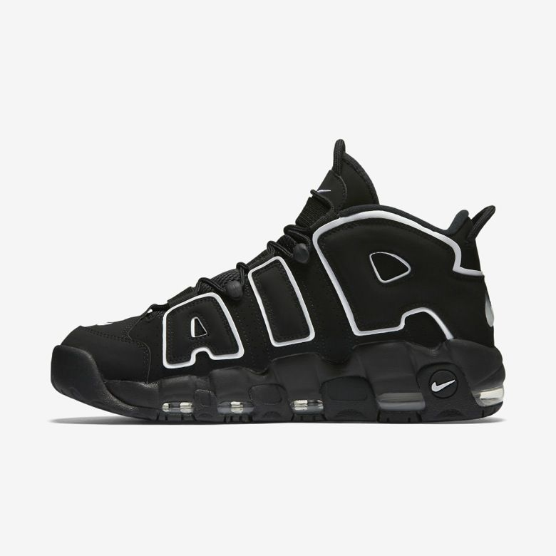 Women Alexander-John Nike Air Uptempo Carbon Grey Shoes