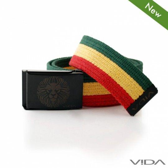 VIDA – Rasta Lionface Belt