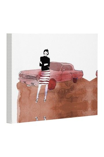 Drive In Canvas Wall Art by Lightning E-Commerce on @HauteLook