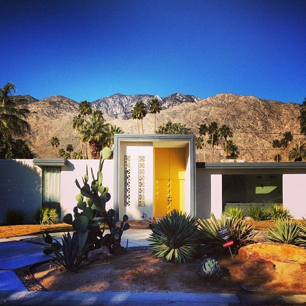 Its Only Summer Once A Year Architecture Palm Springs Architecture Mid Century Modern House