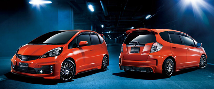 Bodykit Honda Fit Mugen With Led 08 11 And 11 14 Available Honda Fit Honda Fit Jazz Honda Jazz