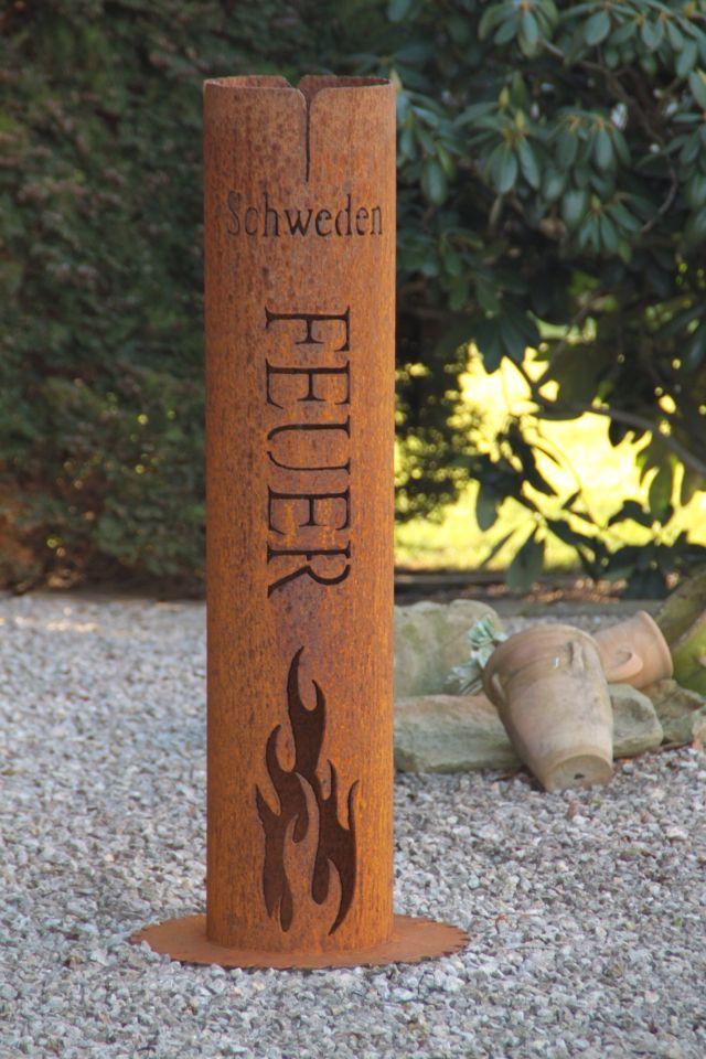 Feuers ule schwedenfeuer pinteres for Feuerkorb hornbach