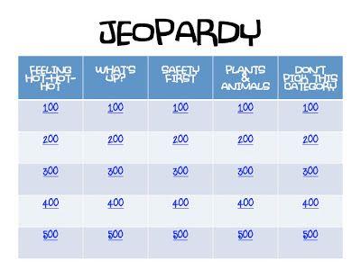 Cozy Bugz PreCamp Certification Jeopardy  Lds Yw Camp