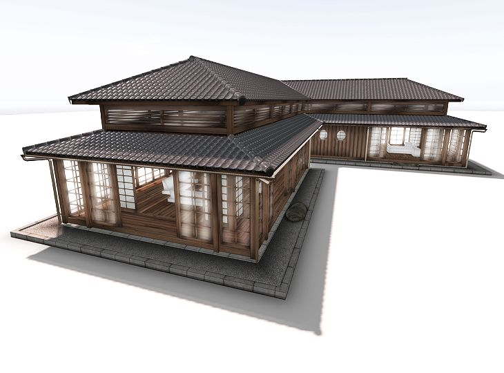 Design Japanese Wooden Foot Bridge Japanese Style House Japanese Home Design Traditional Japanese House