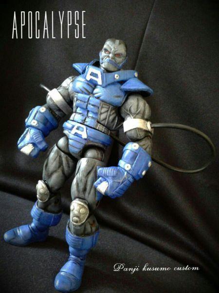 Apocalypse (Marvel Legends) Custom Action Figure by panji88 Base figure: Juggernaut
