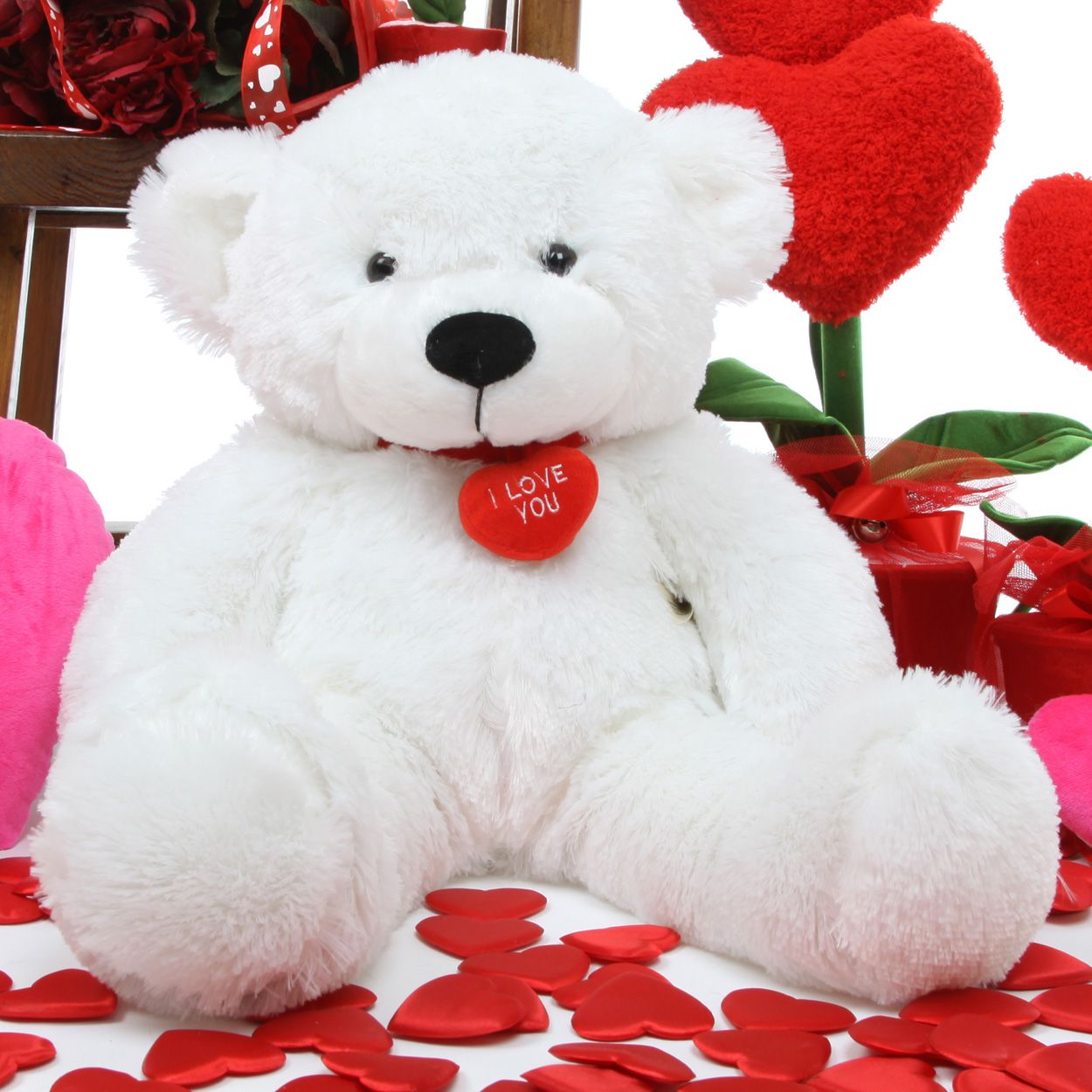 Hd For Mobile Cute Teddy Bear And Love Wallpapers Download For