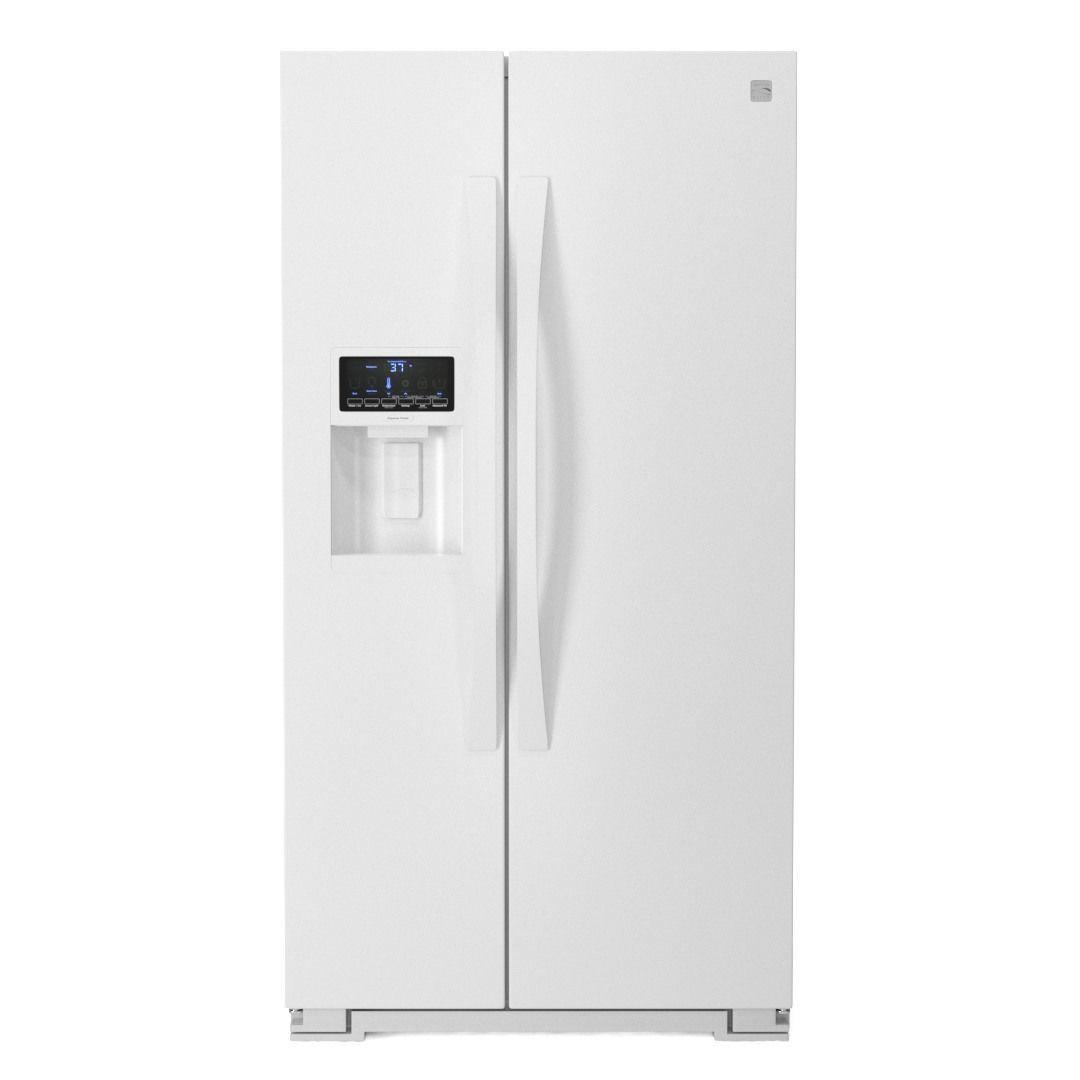 Kenmore Elite 28cu Side By Side Refrigerator 3d Model Kenmore Elite Side By Side Refrigerator 3d Model