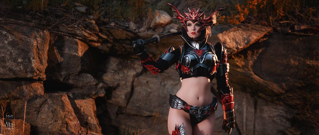 Draconic armor from Lineage II by Atai | Cosplay - Lineage