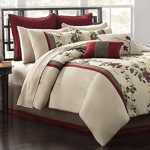 Idella 12 Piece King Bedding Super Set Bedroom Comforter Sets Bedding Master Bedroom Linen