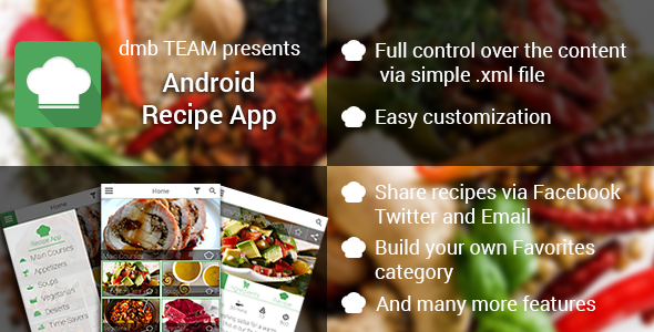 Android recipe app mobile apps apps and scripts portal pinterest android recipe app mobile apps forumfinder Images
