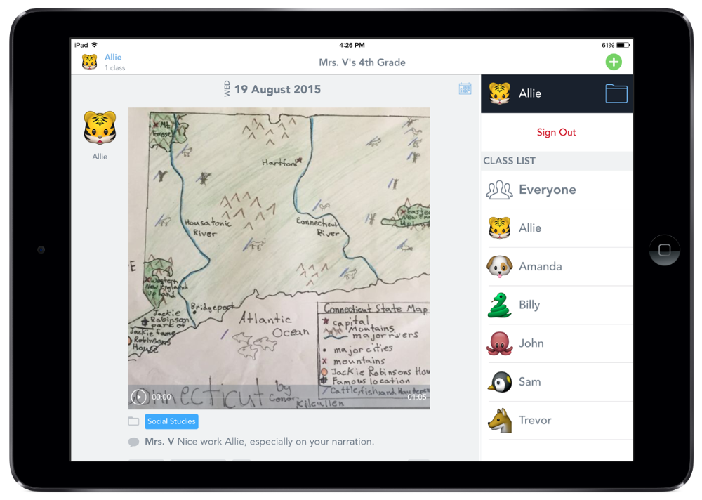 Seesaw for Parents Apps