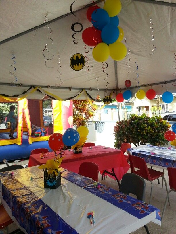 5 Year Old Boys Birthday Party