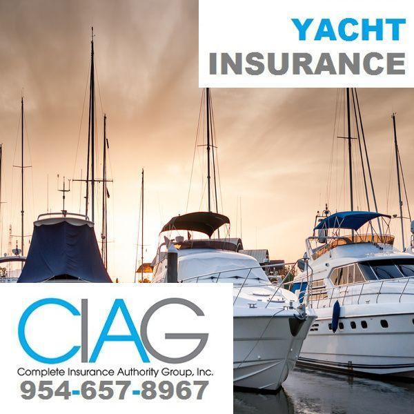 954 657 8967 Yacht Insurance In Weston Fl Get Insured By Ciag
