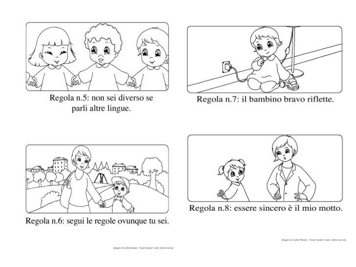 Presentazione di documento sulle regole regole a scuola for Regole per casa
