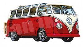 Bus rood