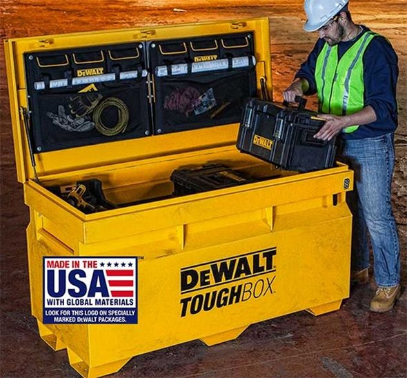 Knaack Portable Tool Box Bush 7 Inch Portable Dvd Player Manual Portable Hd Fm Radio Player Hape Portable Easel: New Dewalt ToughBox Jobsite Tool Boxes (Made In USA