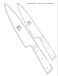 pin by bülent kutsal on wikisharp pinterest knife template