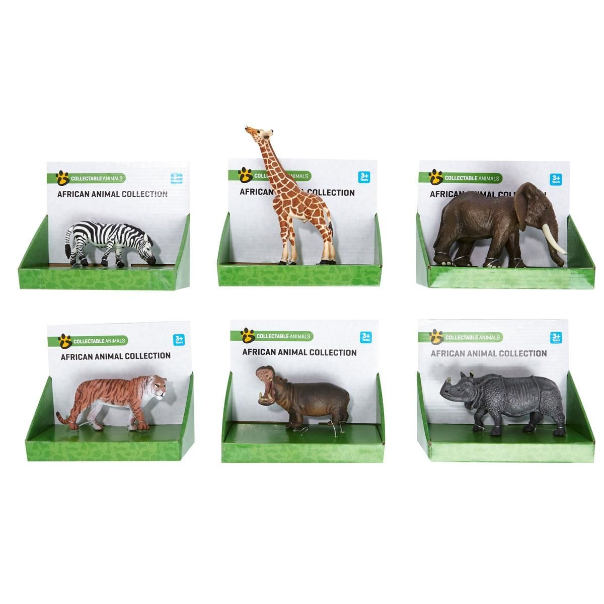 Wild Animal Figurine Assorted African animals, Animals