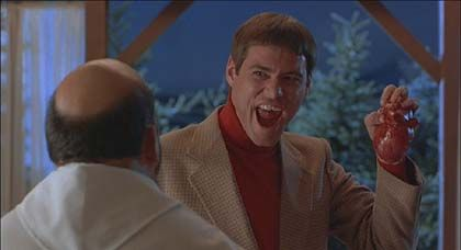 Lloyd Christmas  I nearly wet my pants laughing at Dumb and