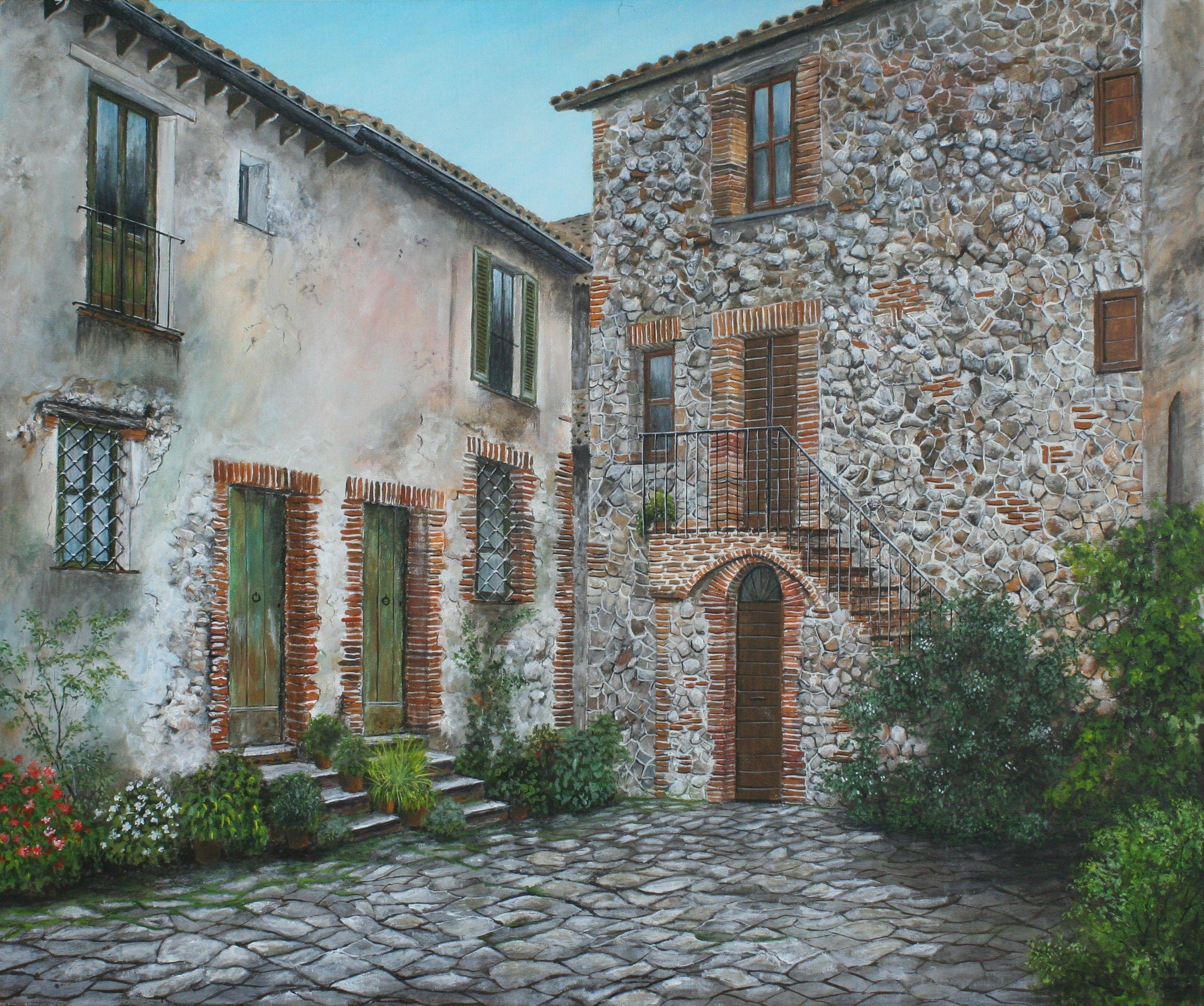 Nando Conti - Il vicolo - Lugnano - Umbria (con immagini ...