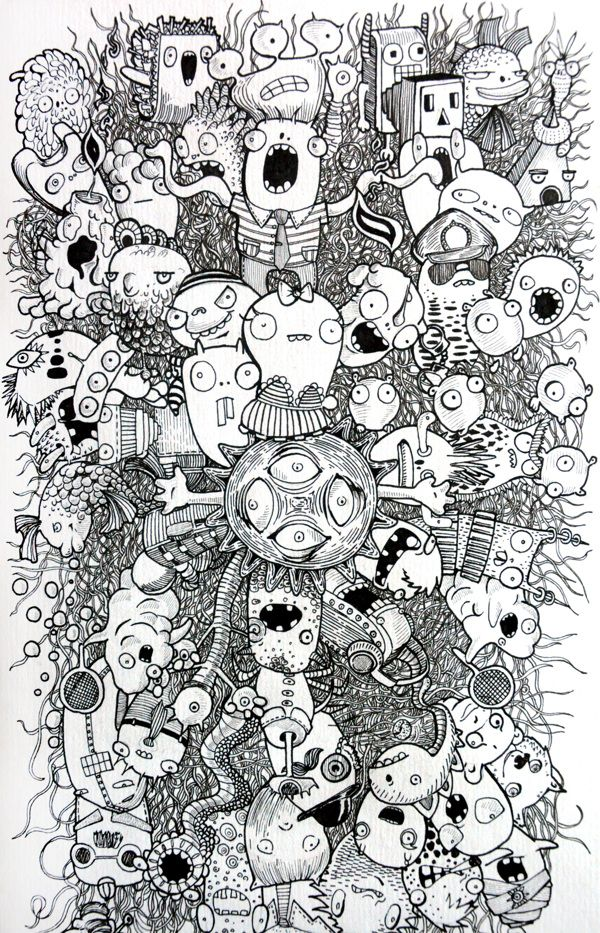 Adultcolorpages Google Search Monster Coloring Pages Doodle