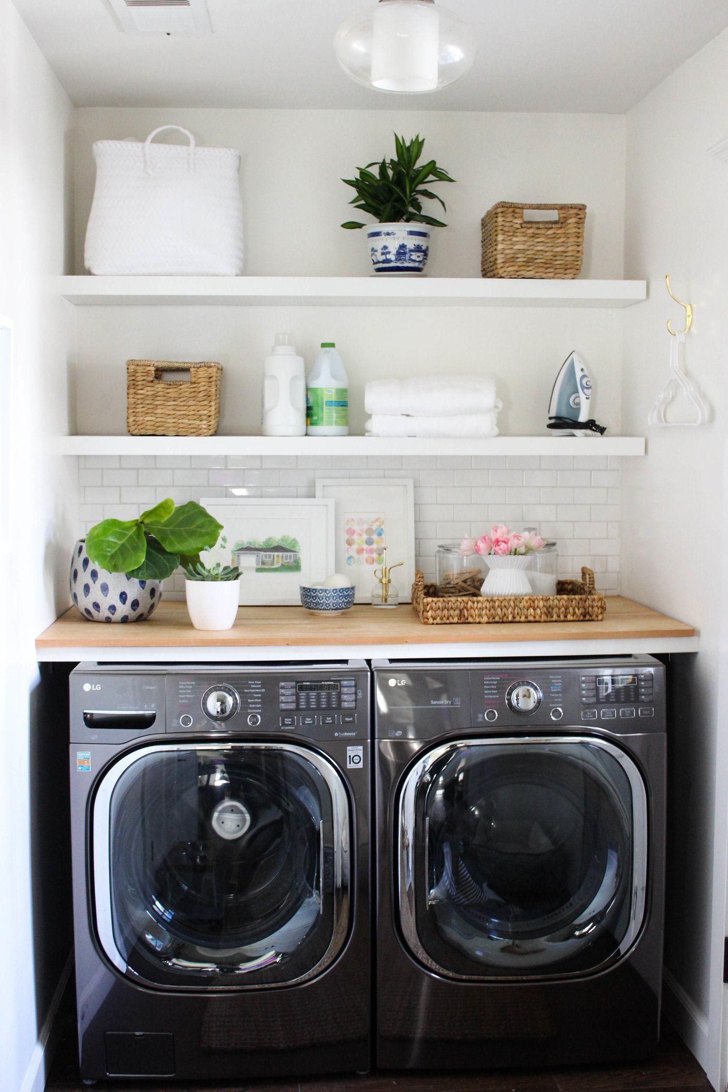 My Laundry Room Update Part Two Katrina Blair Interior