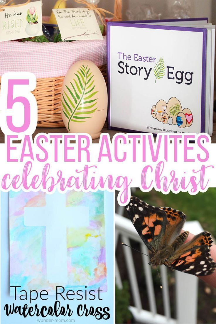 5 christian easter activities for kids seasons activities and