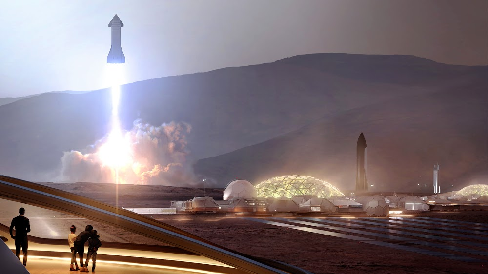 Spacex Mars Base Alpha In Late 2030s Spacex Spacex Starship Mars Exploration