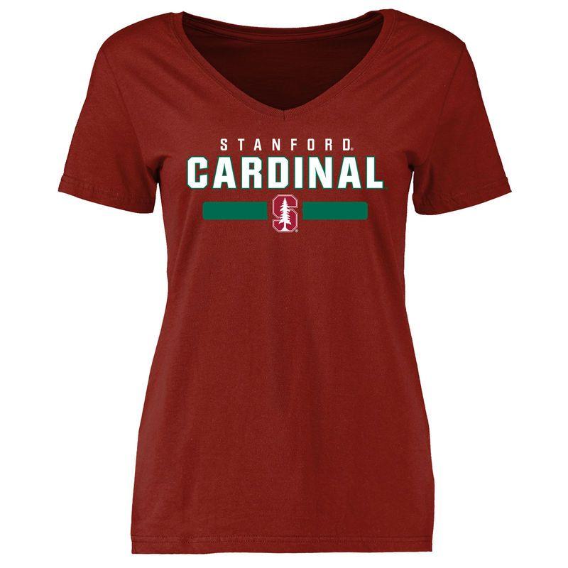 Stanford Cardinal Women's Team Strong Slim Fit T-Shirt - Cardinal