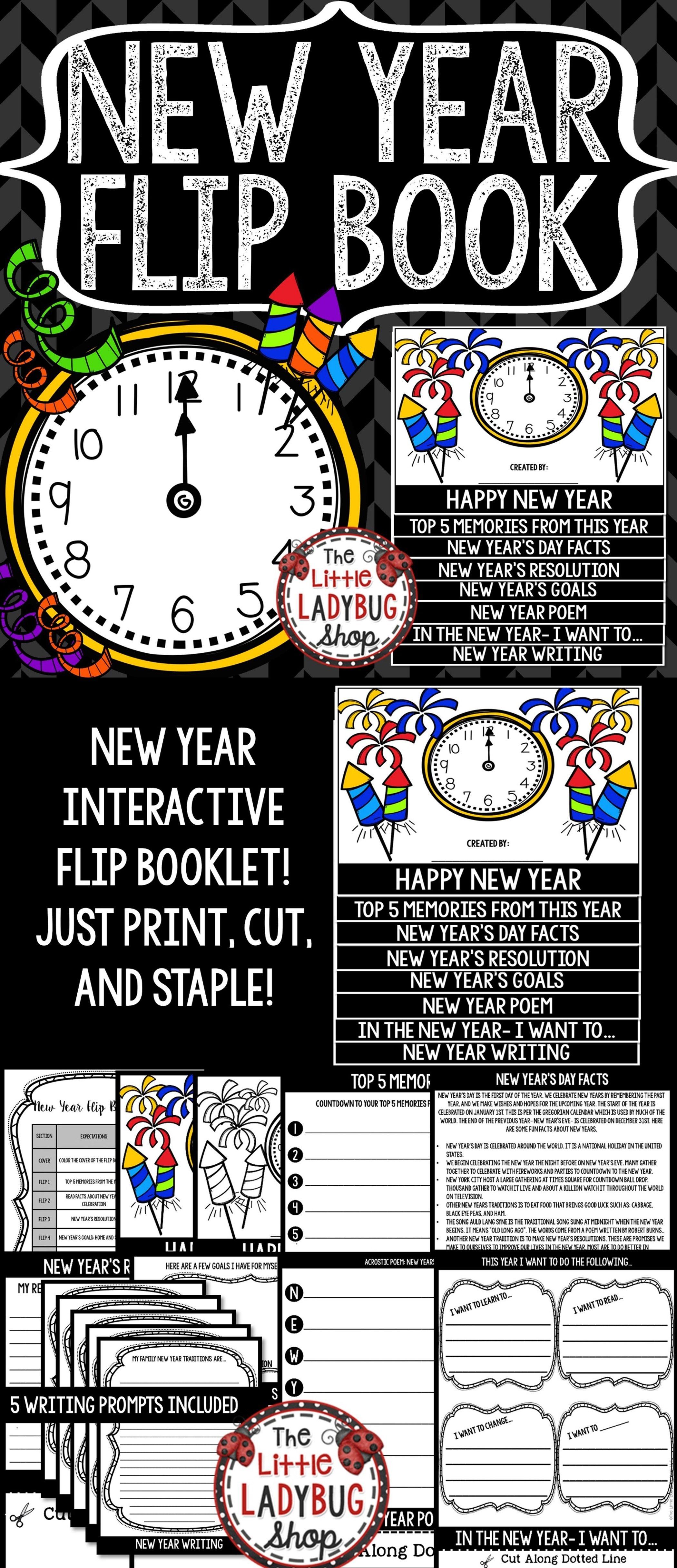 New Year S Activity Goals Amp Resolution Bulletin