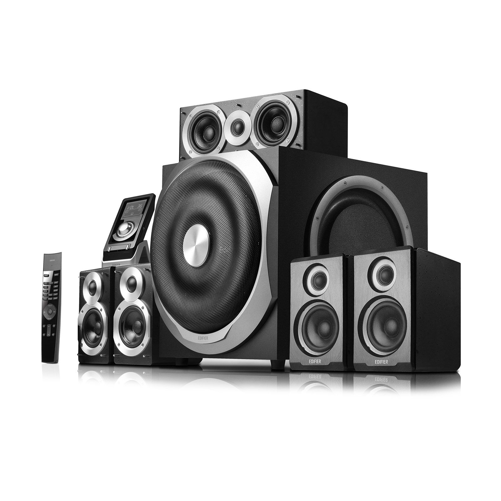 Edifier S760d Ground Shaking 5 1 Home Theater System With