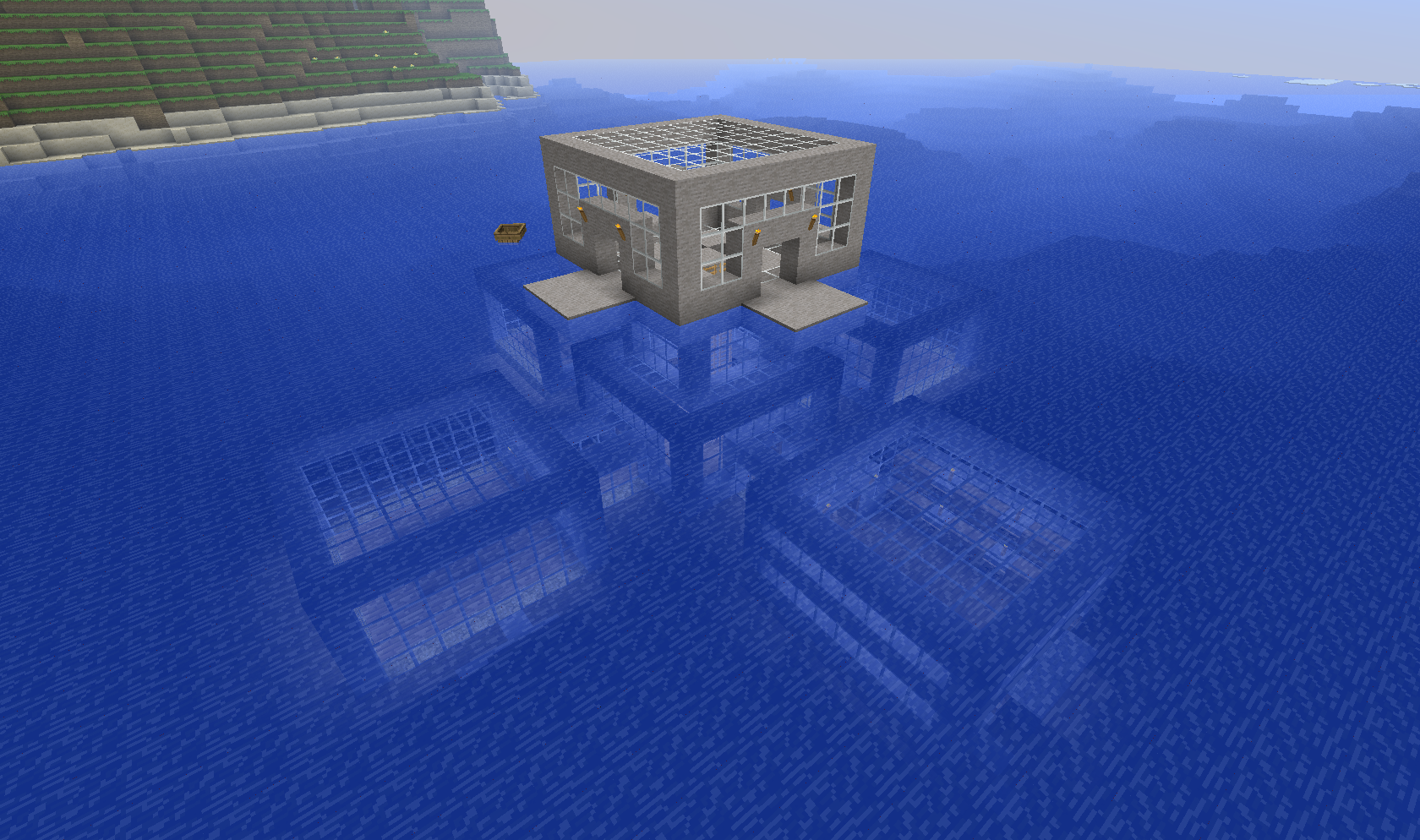 Archive 2 Beta Survival Picture Thread Screenshots Show Your Creation Minecraft For Minecraft Underwater Minecraft Tutorial Minecraft Underwater House