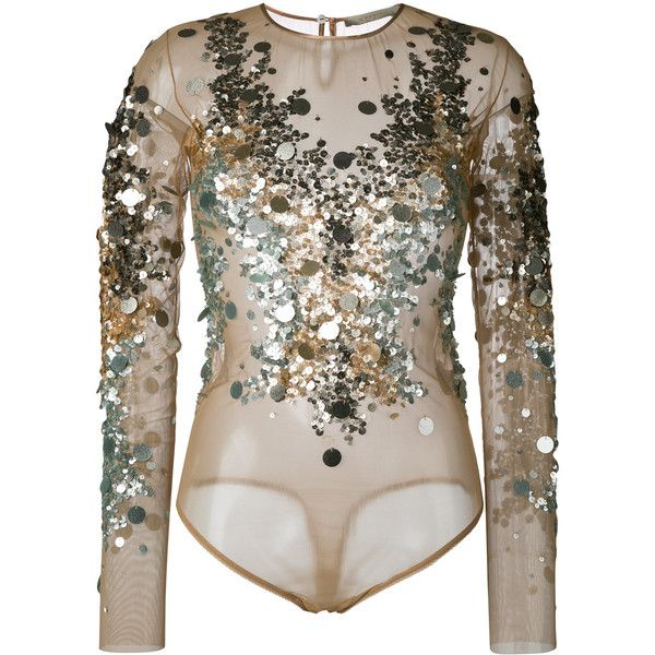 Wholesale Price Cheap Price Outlet Official Amen sequin long sleeve blouse Discount 2018 Prices Cheap Online Get To Buy Cheap Price up6AmJJ