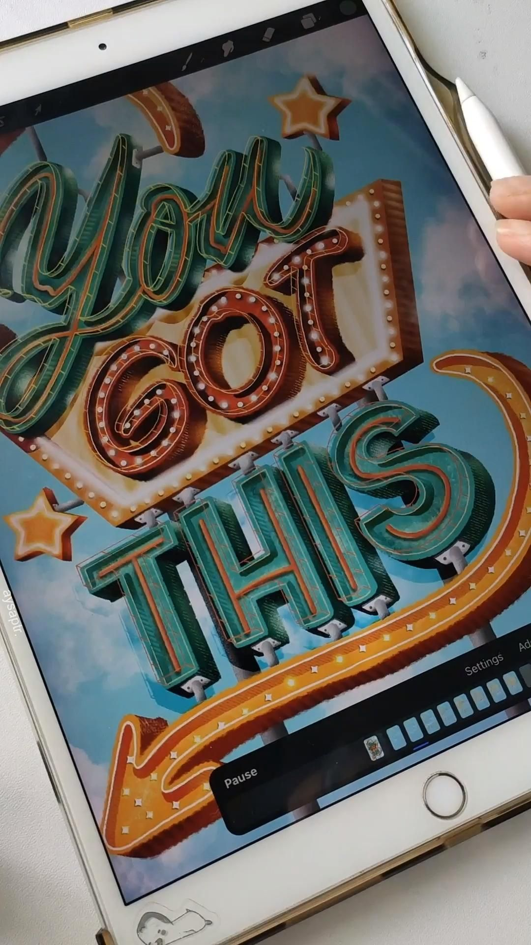 Create stunning lettering pieces in no time. ✍️ Th