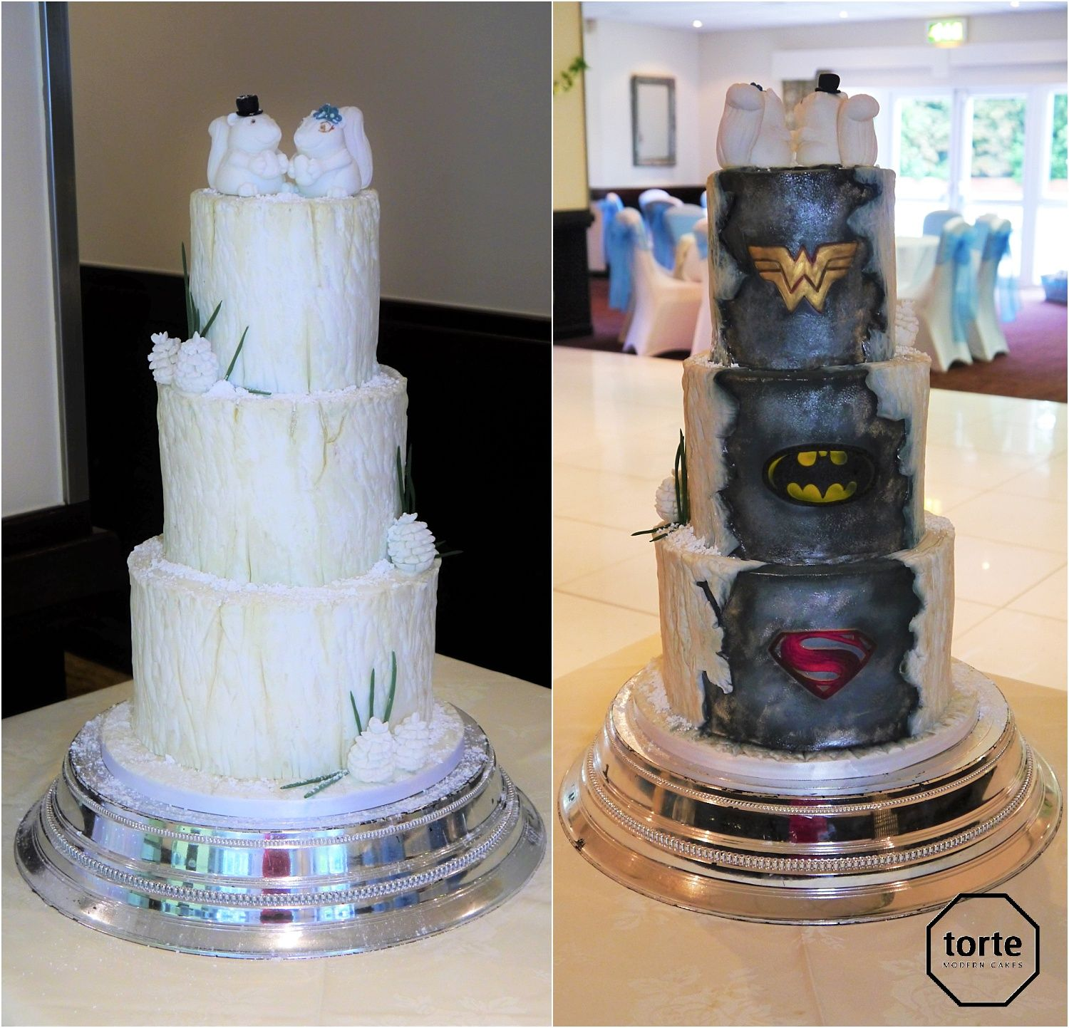 Luxury Modern Cakes Made In Sheffield Iced Wedding Cakes Superhero Wedding Cake Batman Wedding Cakes Superhero Wedding