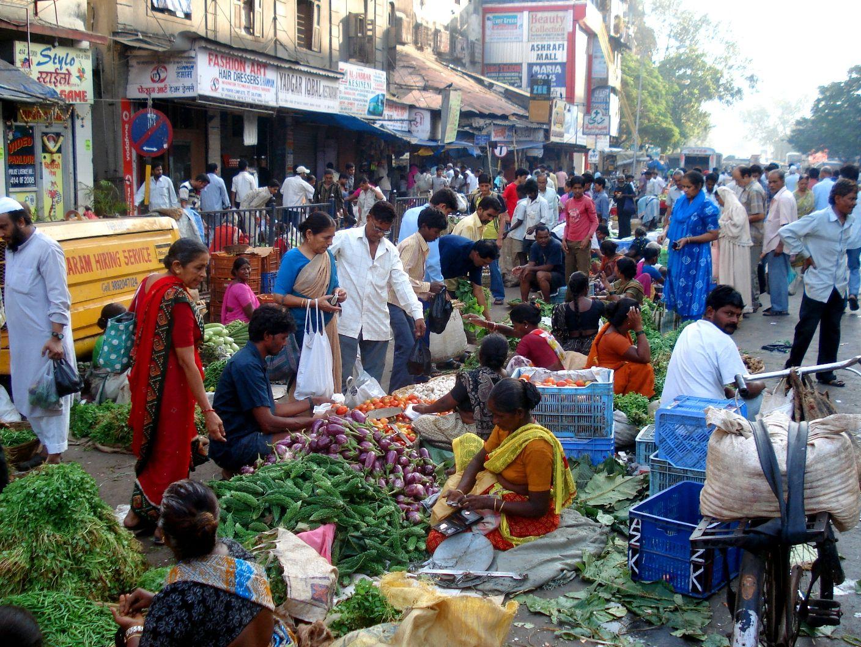 Street Market, Mumbai, India, Mumbai india, India street