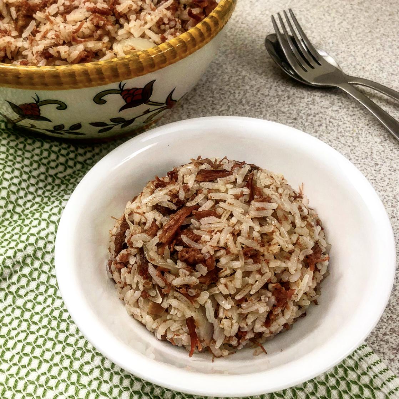 Filipino Corned Beef Rice | Recipe | Beef and rice, Corned ...