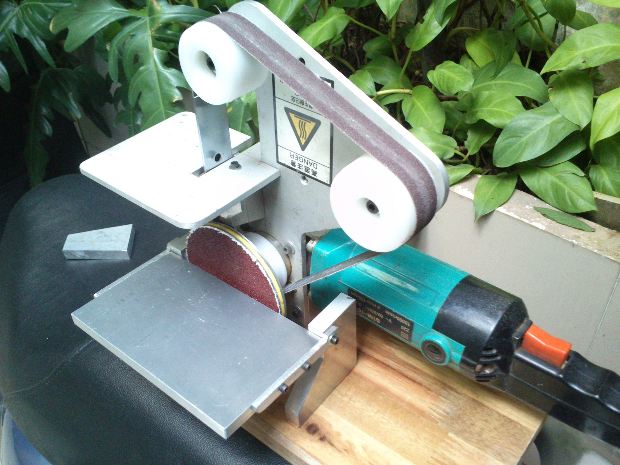 voila my diy disc belt sander hehe workshop. Black Bedroom Furniture Sets. Home Design Ideas