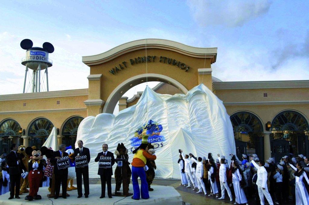 Walt Disney Studios opening day