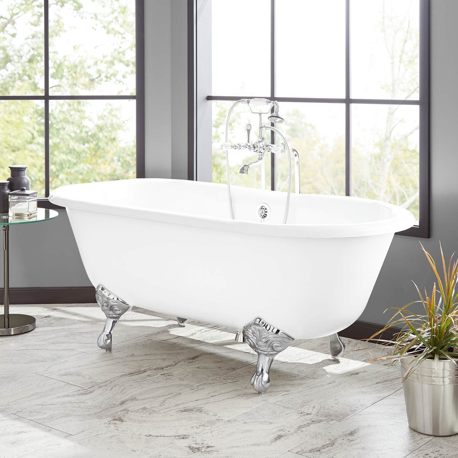 Sanford Cast Iron Clawfoot Tub In Imperial Feet Signature