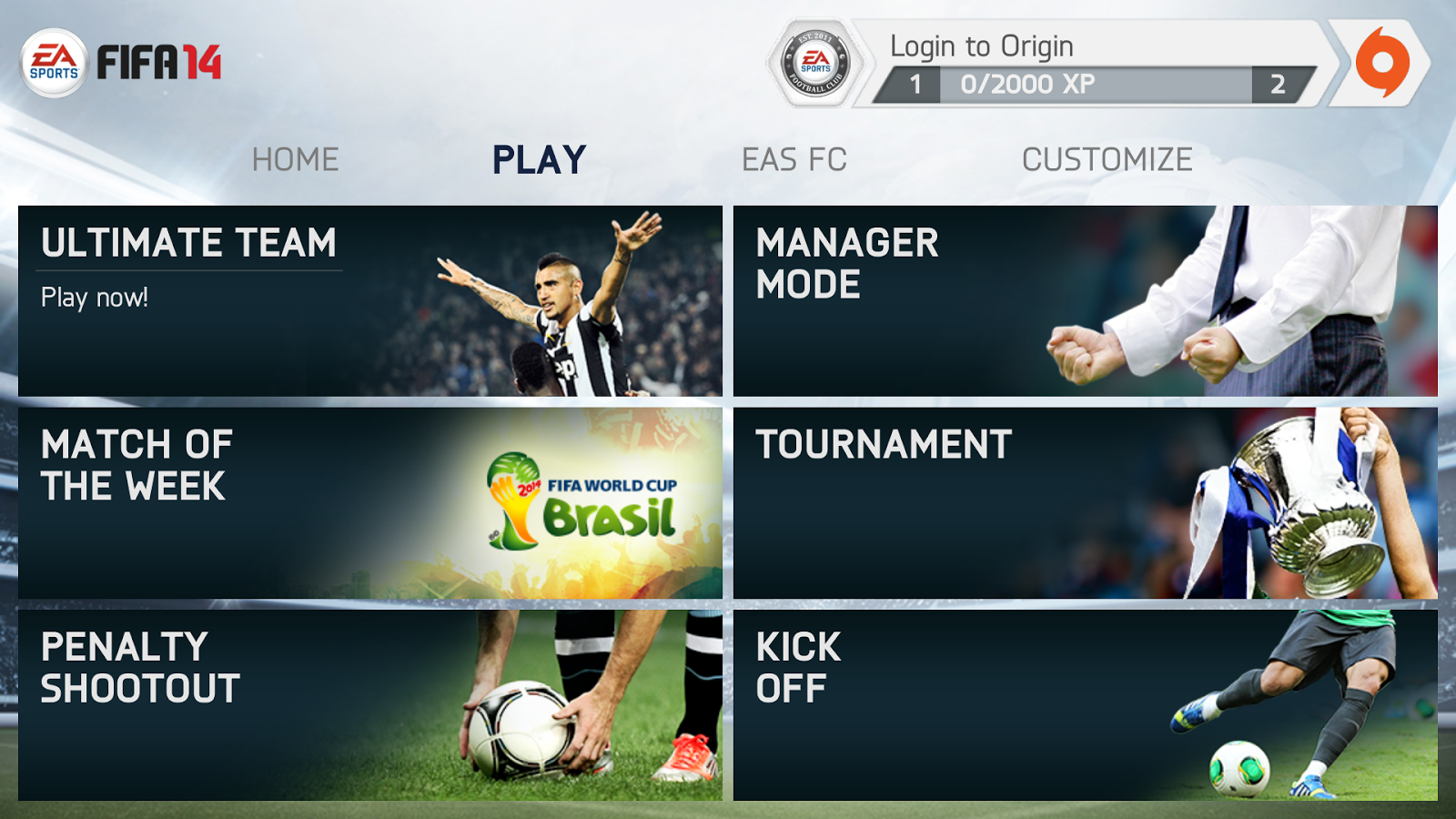 Fully Unlocked FIFA 14 v1 3 6 Mod Apk + Obb Data [No Root] | Game
