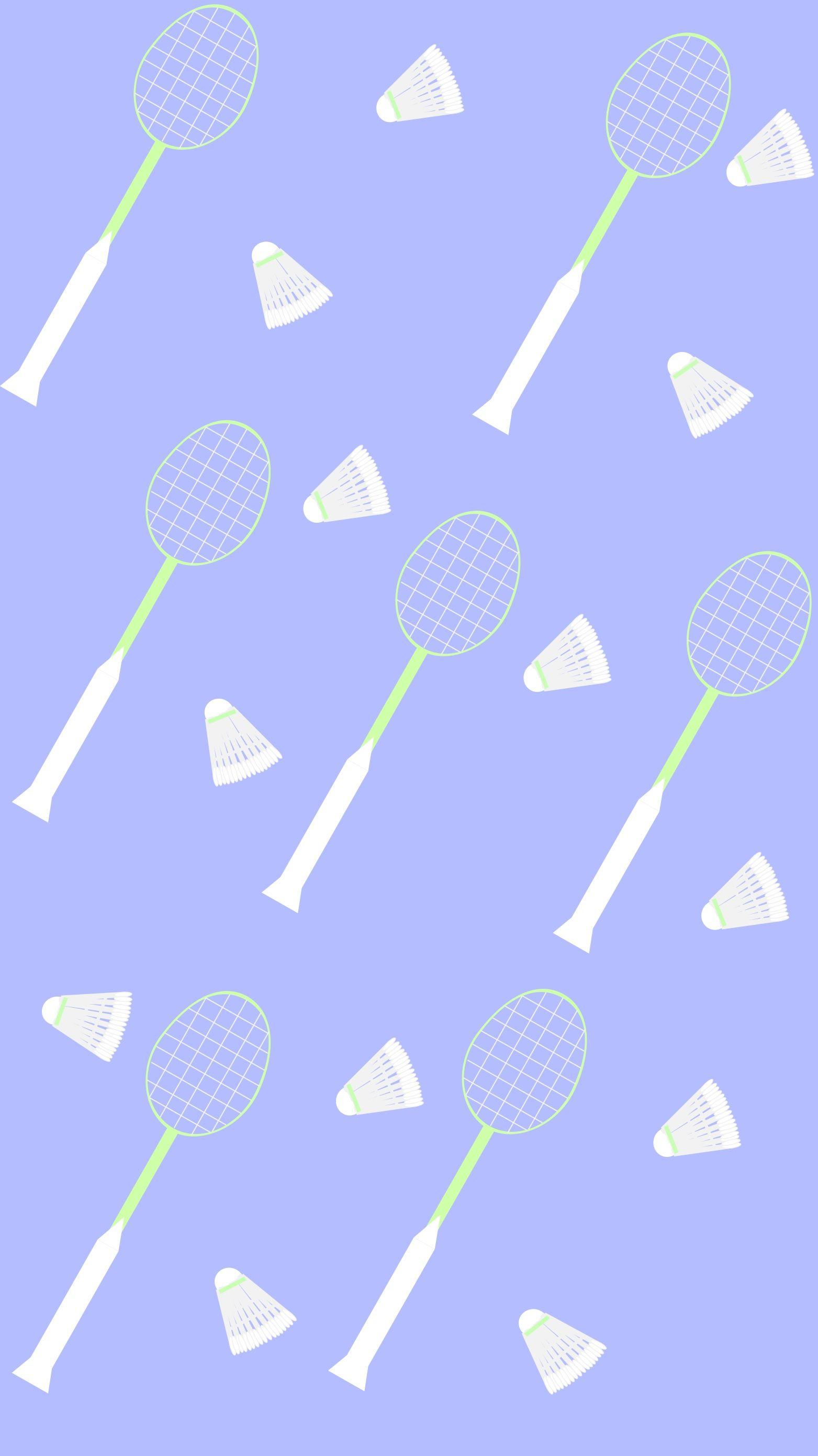 Badminton Iphone Wallpaper Made On Adobe Illustrator Wallpaper Background Wallpaperiphone Badminton Badminton Olahraga Gambar