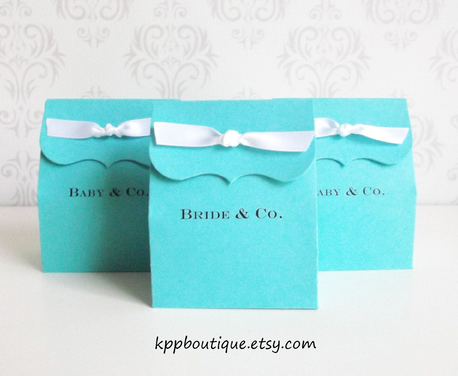 cf482bc56a Personalize with Jordan's Sweet 16. Personalized Tiffany Blue Favor Bags |  Tiffany & Co Inspired Personalized Favor Boxes/Bags by kppboutique