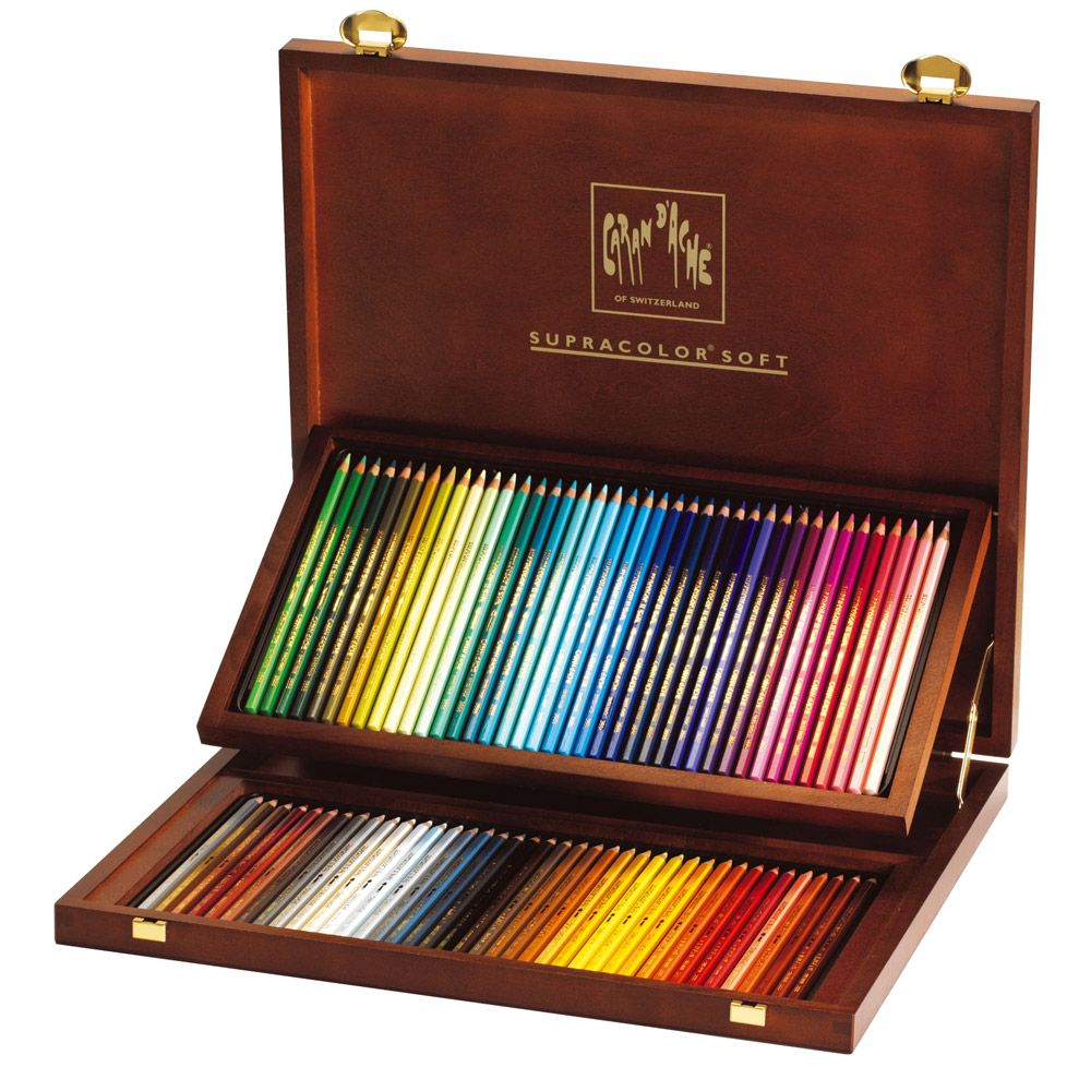 Caran D Ache Supracolor Ii Watercolor Pencil Sets Jerrysartarama