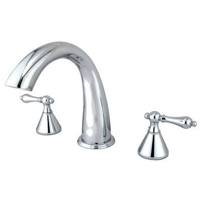 Elements Of Design Double Handle Deck Mounted Roman Tub Faucet Tub Faucet Roman Tub Faucets Roman Tub