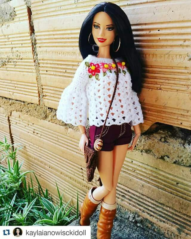 Pin By Vg Kati On Babk Pinterest Barbie Clothes Dolls And Crochet