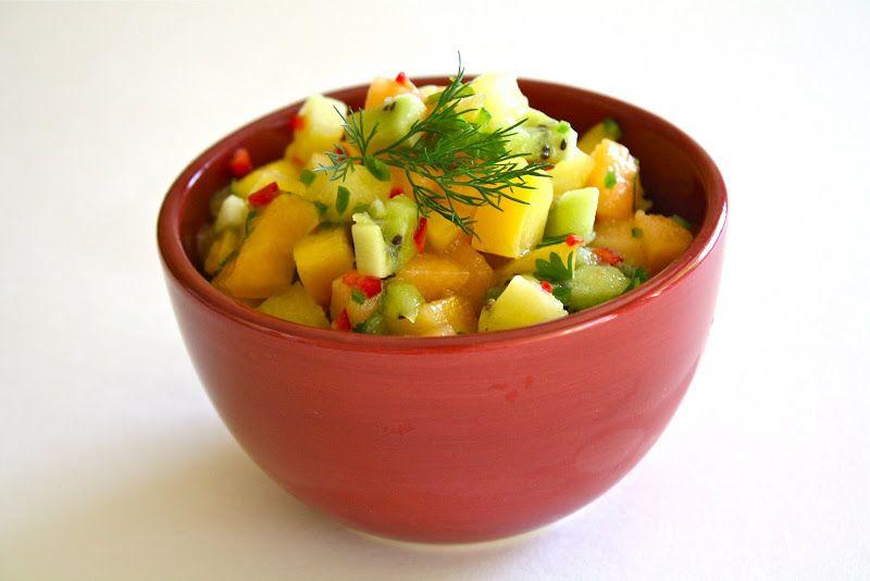 Tropical Fruits Salsa