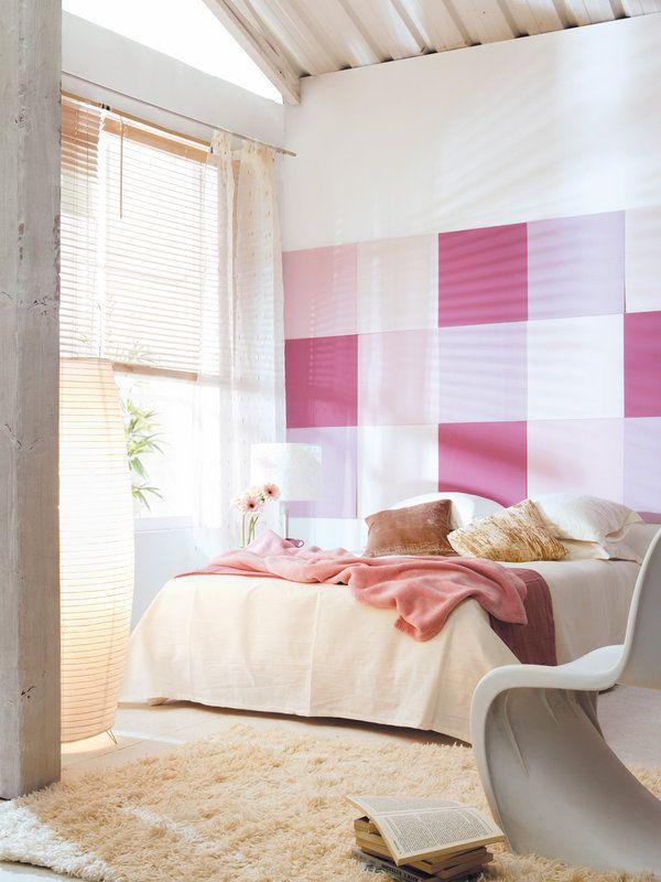 T cnicas e ideas para pintar tus paredes decoracion - Paredes pintadas originales ...